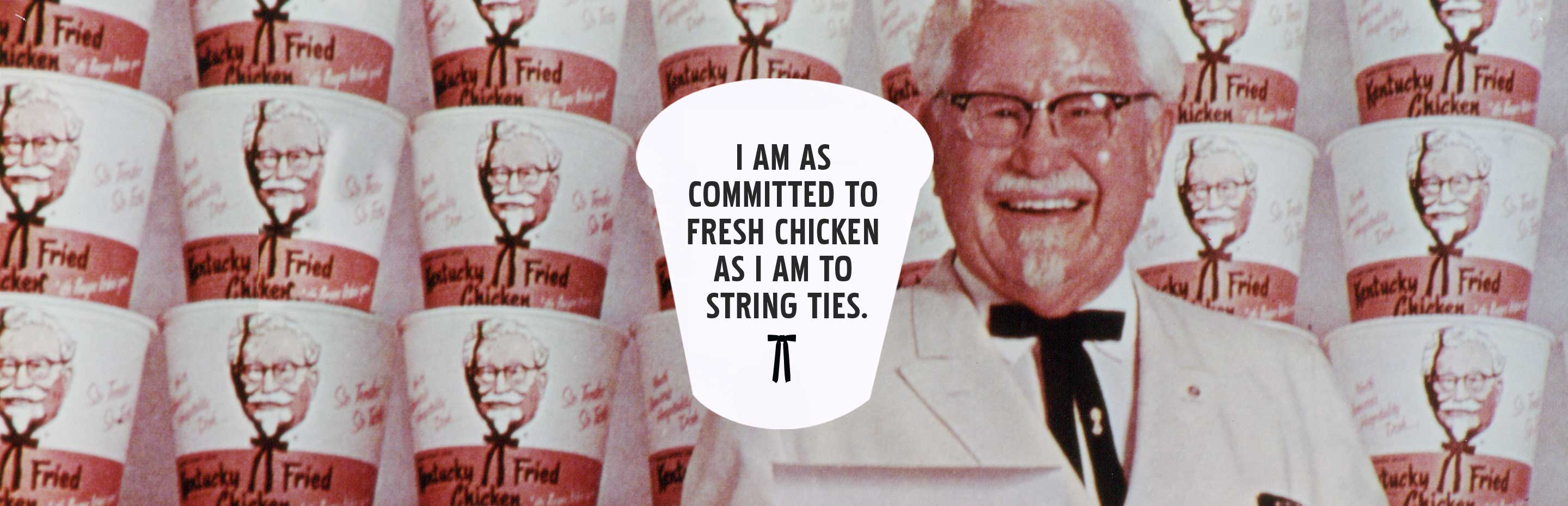 KFC Is Committed to Fresh Chicken