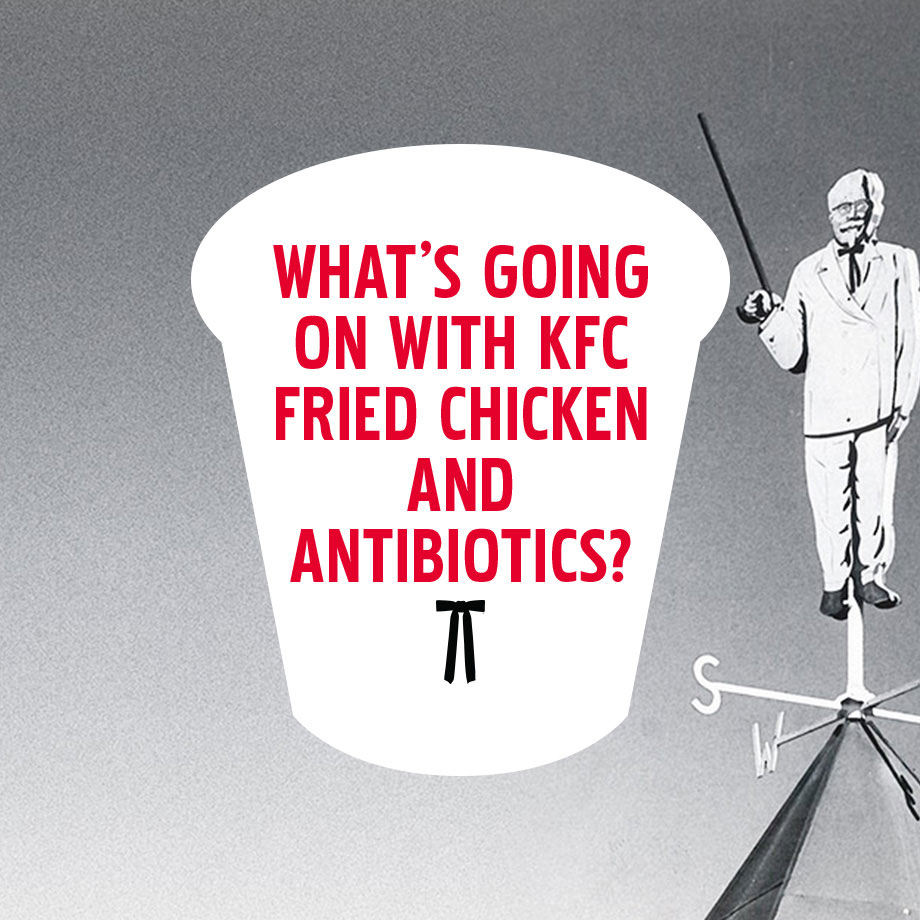 KFC no antibiotics