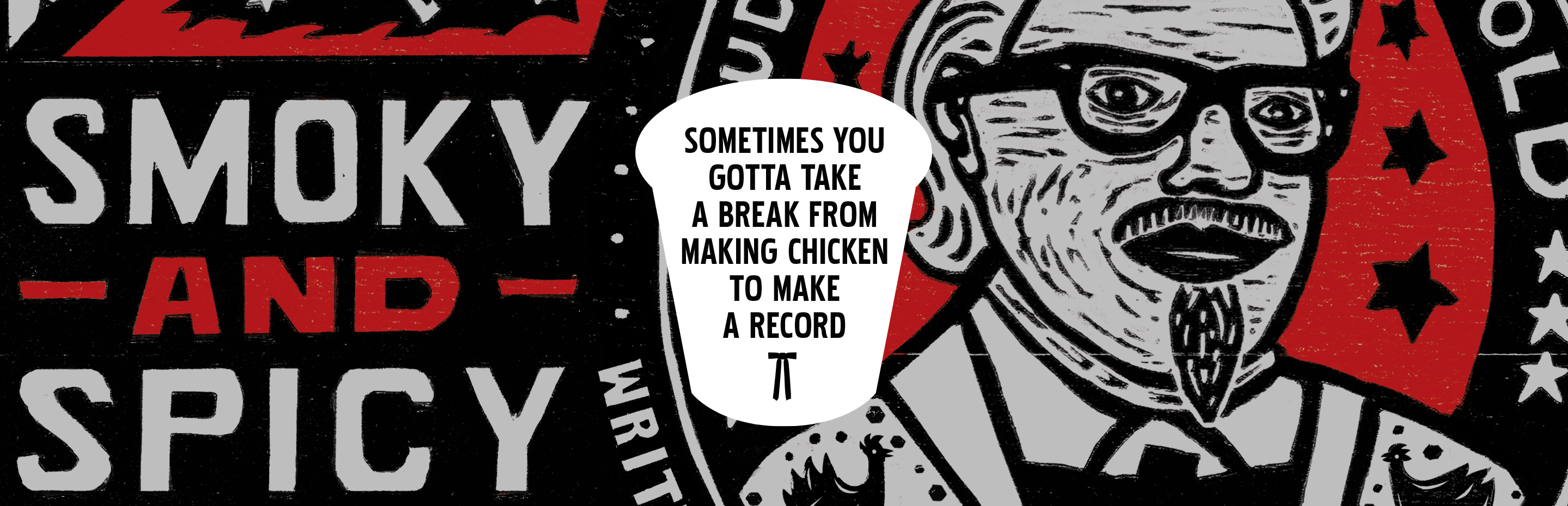 Colonel Sanders Takes A Break From Making Chicken, To Make A Chicken Inspired Record