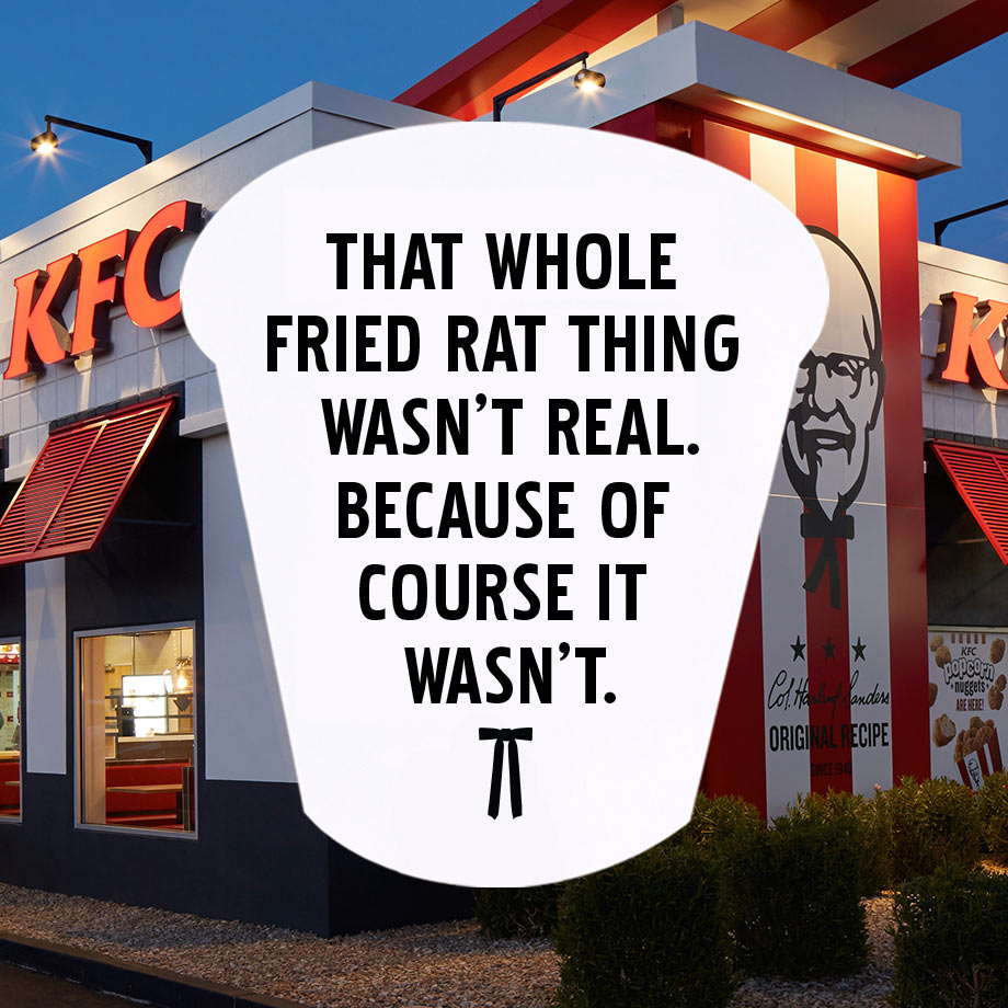 The KFC Rat Hoax Debunked