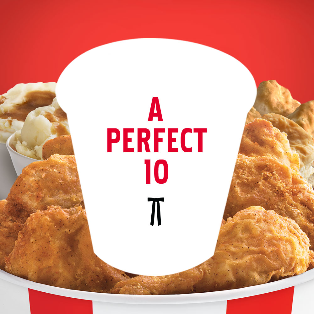 KFC's 10-piece Chicken Feast, Only $19.99!