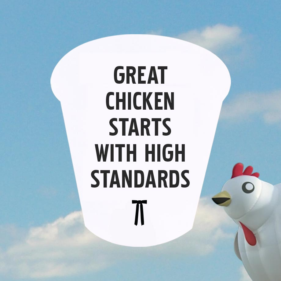 KFC Chickens Are Raised with High Standards from Chicken Farms
