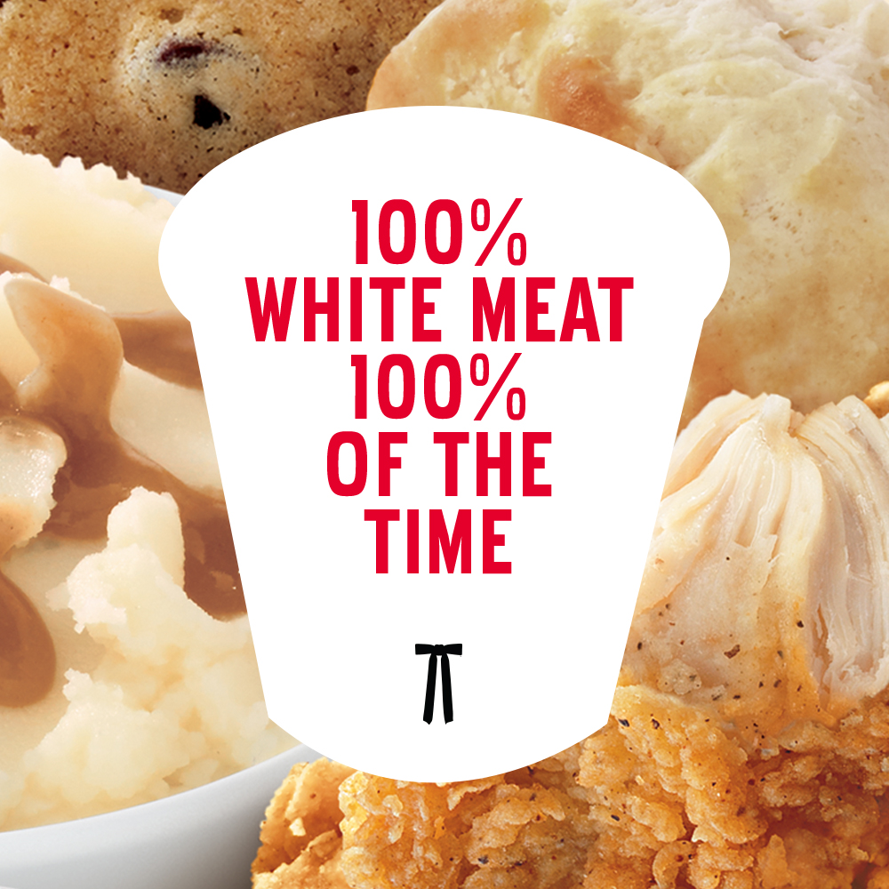 KFC Has 100% White Meat Year-Round! It's An All-Seasons Miracle!